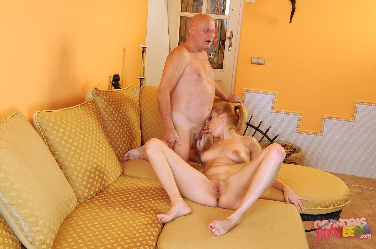 старик и молодые порно очень