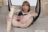Vanda's brutal anal dildo insertion - N20