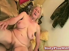 shaven-granny-snatch-fucked