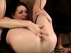 She Squirts into her Own Mouth