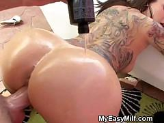 Tattooed Milf Doggystyled