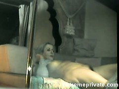 spying-mum-fingering-on-home-webcam