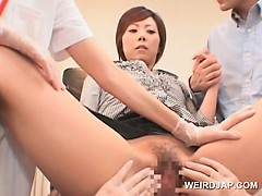 japanese-girl-gets-full-pussy-check-at-the-gynecologist