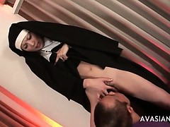 beautiful-asian-nun-gets-her-hairy-pussy-licked