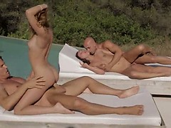two-couples-makinglove-together-outside