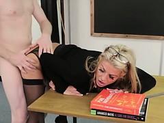 femdom-sph-blonde-teacher-fucked-hard-on-desk