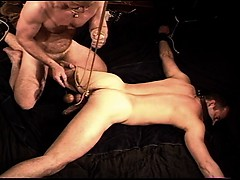 cbt-bondage-and-ball-stretching-session-on-my-hung-and