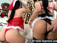 rebeca linares and abella anderson double asses