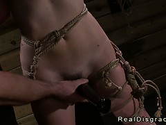 tied-up-babe-gangbanged-by-master-and-fucking-machine