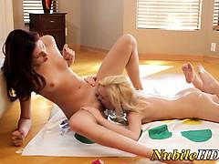 teen-lesbo-play-twister-lick