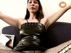 Horny Mature Skank Spreads Her Legs Part6