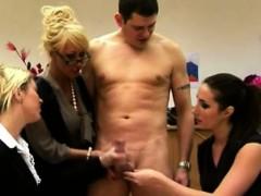 cfnm handjob loving sluts being playful