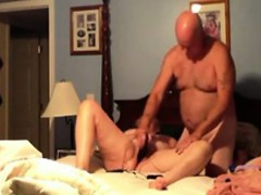 amateur wife getting banged with a dildo