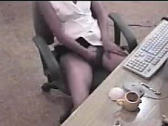 asian-secretary-caught-masturbating