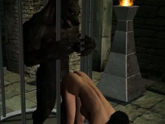 hot-3d-brunette-babe-getting-fucked-by-a-werewolf