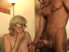 He Fucks Porn loving Mother in law