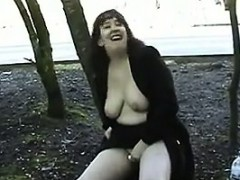 chubby-woman-flashing-her-tits-and-pussy