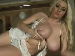 busty-blonde-being-a-tease