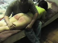 Spanking My Sub Nadja A Real Red Ass