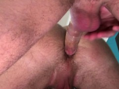 Twink Jerks Dick While Being Ass Rammed