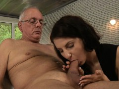 old-fart-fucks-young-whore-brunette-in-ass