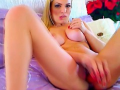 busty-blonde-babe-masturbating-with-her-dildo