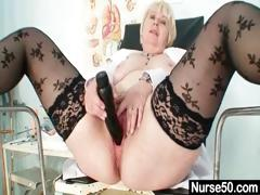 big-tits-old-lady-in-uniform-fingers-hairy-pussy