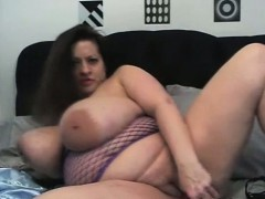 bbw-dildo-titty-fucked