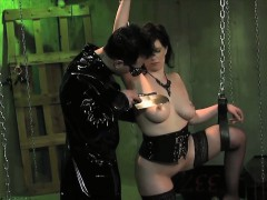 busty-strapped-sub-deep-throats-and-banged-in-dungeon