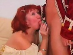 granny finally meets her handsome prince granny sex movies