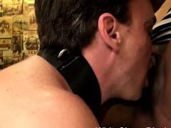 white-slave-licking-black-femdom-pussy