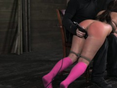 ballgagged-mia-gold-over-the-knee-spank
