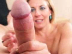 mature-milf-gets-cum-in-eye-and-on-tits-after-hj