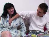 43yr old mom seduce german step-son to fuck her