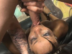 black-ghetto-slut-getting-her-face-destroyed-on-sofa