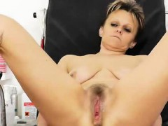 Wispy Dame With A Unshaven Fuck Hole