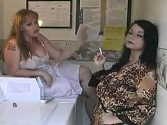 ladies-having-a-smoke-in-their-lingerie