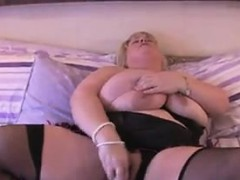 fat-brit-wearing-lingerie-with-a-toy