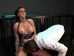 chained-busty-slave-pierced-pussy-banged