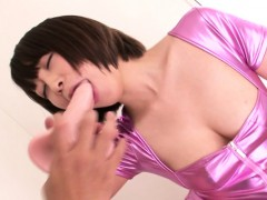 Asian Cosplay Babe Gets All Her Holes Toyed