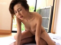 Japanese Av Model Is Aroused Before Sucking And Riding Boner