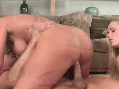 Milf Devon Brings A Guy For Threesome