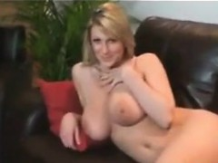 busty-blonde-strips-at-home-after-working-pov