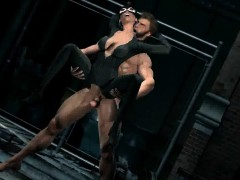 3d Cartoon Catwoman Getting Fucked Hard Outdoors