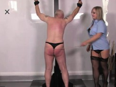 police-doms-caning-and-chastising-their-sub