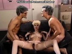 lois ayres, billy dee, joey silvera in cute 80's porn chick