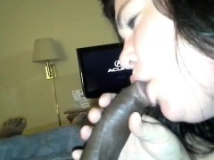 white-girl-blowing-black-rod