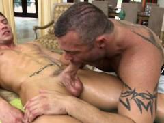massaging-his-warm-throat-with-his-huge-shlong