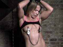 blonde-claire-is-detained-in-the-dungeon