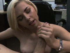 short-haired-blonde-getting-her-face-fucked-in-pawn-shop
